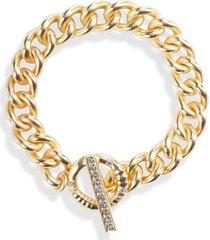 women's kendra scott whitley chain toggle bracelet