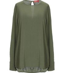 manila grace denim blouses