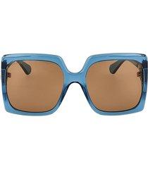 gucci gucci gg0876s blue sunglasses