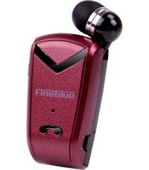 audifonos bluetooth, f-v2 auriculares estéreo audifonos bluetooth manos libres  manos libres en mini-llamadas de la versión recordar auriculares de negocios para la conducción de negocios auriculares de música (rojo)
