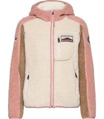 yupik w h sweat-shirts & hoodies fleeces & midlayers roze napapijri