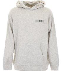 r13 distressed hoodie