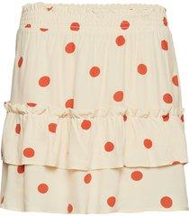adelia skirt kort kjol multi/mönstrad just female