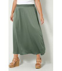 kjol sara lindholm olivgrön