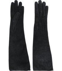 ermanno scervino classic gloves - black
