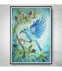 jungle bird plakat 50x70cm