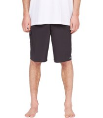 billabong all day pro board shorts, size 40 in black at nordstrom