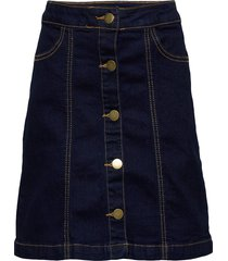orvelle skirt kjol blå the new