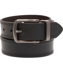 levi's men's embossed reversible belt
