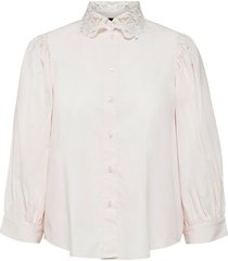 romance 3/4 puff sleeve shirt