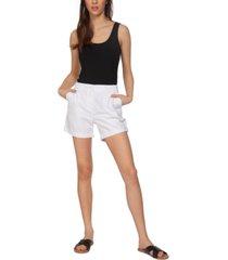 black tape basic cuffed shorts