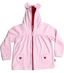 casaco infantil jokenpô capuz orelhas feminina