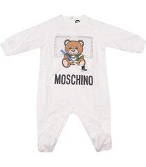 moschino bear print rompers