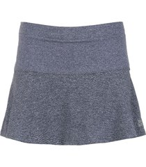 track & field flared skirt - grey