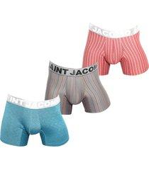 boxer para hombre microfibra colores surtidos uou socks x 3und envio gratuito