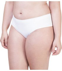 calcinha alta dupla branco - 532.029 marcyn lingerie alta branco