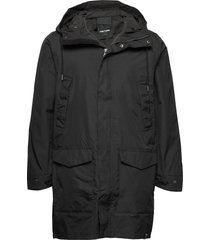 mens rain jacket from the sea parka jacka svart tretorn
