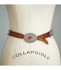 women's vintage butterfly concho belt