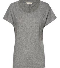 dooer t-shirt t-shirts & tops short-sleeved grå odd molly