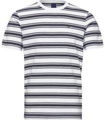classic cotton/elastane crewneck tee t-shirts short-sleeved vit scotch & soda