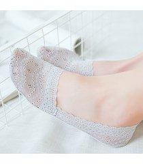 calze da barca invisibili in silicone antiscivolo in silicone per uomo