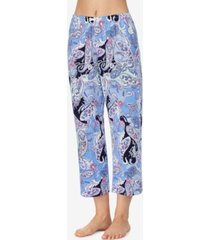 ellen tracy knit cropped pajama pant