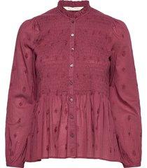 melinda blouse blouse lange mouwen rood odd molly