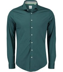 overhemd stretch groen