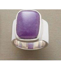 sundance catalog women's lavender jade ring 9.5