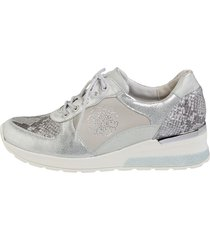 sneakers waldläufer silverfärgad