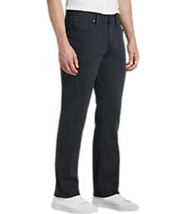 joe's jeans brixton navy slim fit twill pants