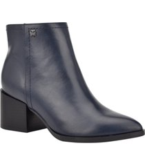 tommy hilfiger jetz booties women's shoes