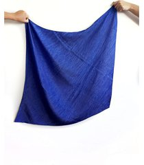 pañuelo azul nuevas historias plisado