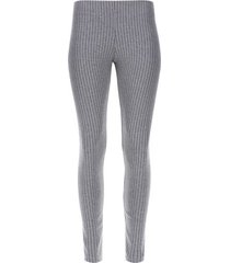 legging a rayas color gris, talla l