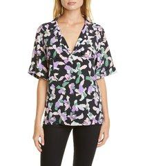 women's equipment parnella silk blouse