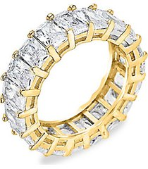 crystal eternity band ring