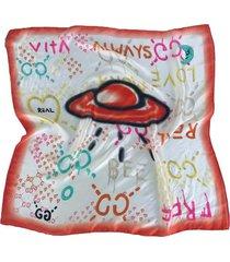 pañuelo naranja nuevas historias ovni ba670-33