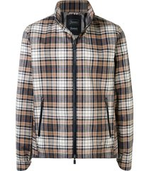 herno thermal checkered jacket - multicolour