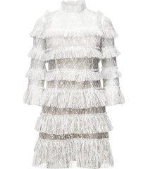 carmine mini dress kort klänning vit by malina
