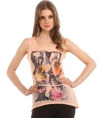 n she tank - guess - t-shirts & tanktops - roze