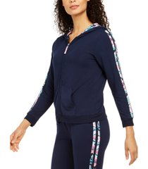 vera bradley go faster french terry lounge hoodie, online only