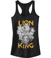disney juniors' lion king cast photo ideal racerback tank top