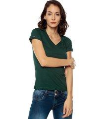 camiseta d verde oscuro s4090