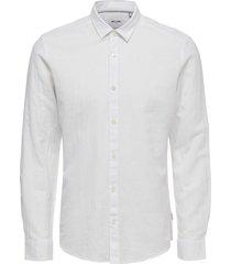solid linen shirt