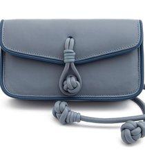 bolsa dms pochete katia azul