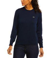 lacoste long-sleeve sweater