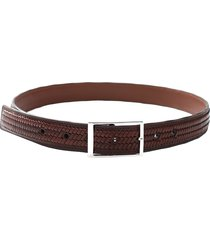 center wave carved belt