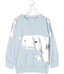 wauw capow happy hunting sweater - blue