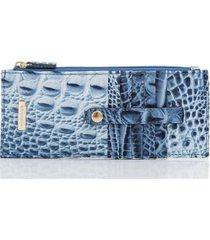 brahmin poolside ombre melbourne leather credit card wallet