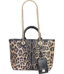 dolce & gabbana designer handbags, capri shopper bag